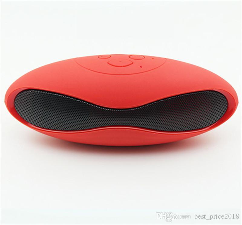 Mini Portable Mini-X6U X6 Rugby Football Stereo Speaker X6U Soccer Wireless Bluetooth Handsfree FM With MIC USB AUX Micro TF Card MP3 Player