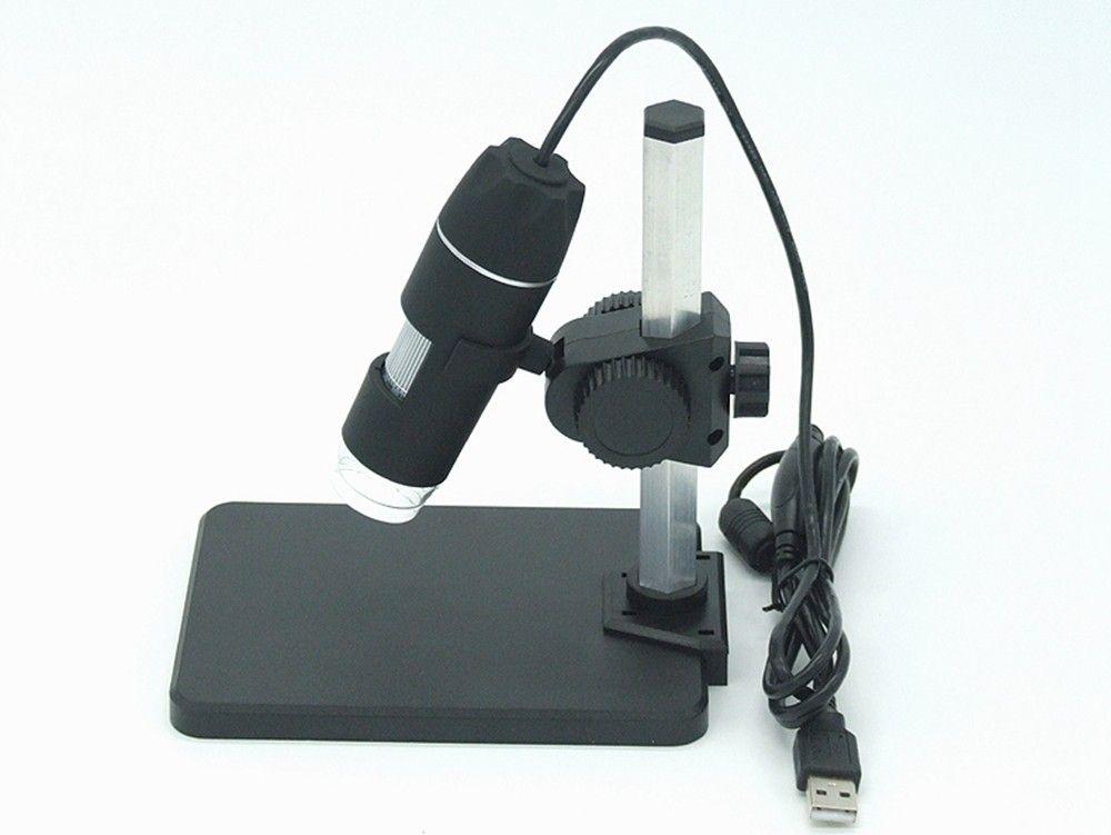 2.0MP 8-LED Endoscopio con software di misurazione 1000x USB Digital Microscope Endoscope Camera Microscope Magnifier