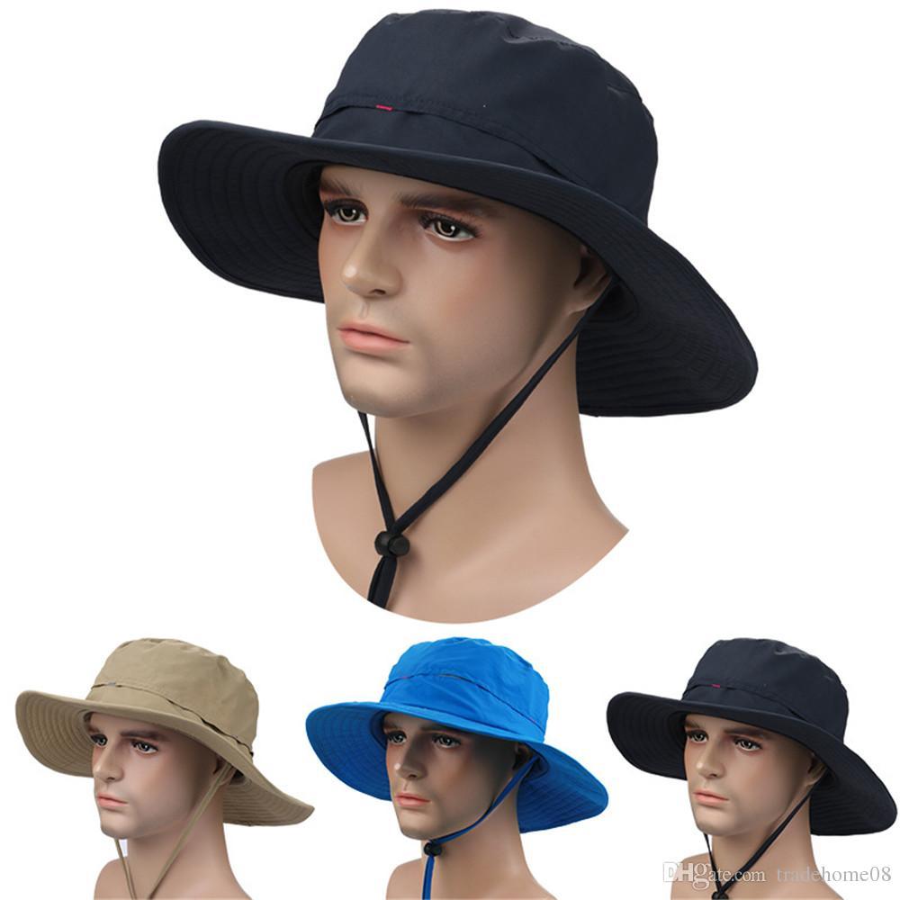f991954750f80 New Fashion Foldable Unisex Wide Brim Men Outdoor Sports Fishing ...