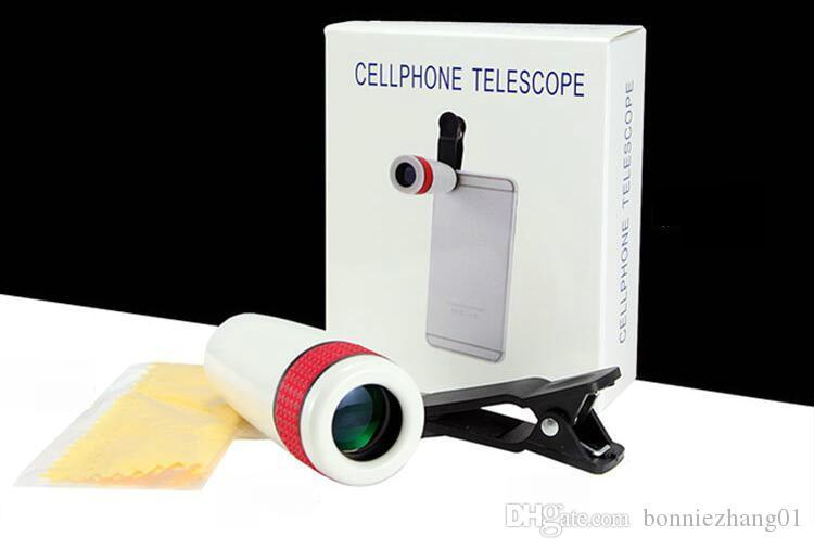 10 adet Yeni Evrensel Ortak 2 m 1000 metre Yürüyüş Konser Cep Telefonu Kamera Lens Yakınlaştırma Teleskop Kamera Lens Telefon Tutucu Için Smartphone