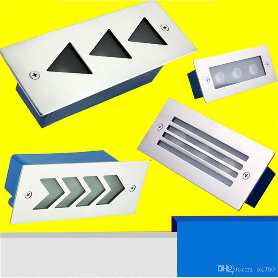 outdoor mport recessed miniport pureedge led by step ss eyelid el index trim lighting light
