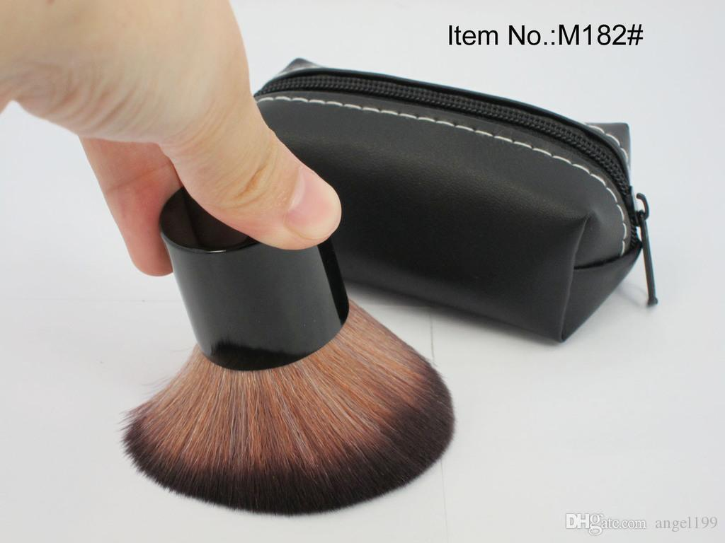 HOT Makeup 182 rouge brush \blusher brush+Leather bag DHL