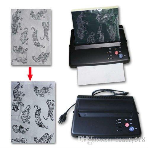 Tattoo Stencil Maker Transfer Printer Thermal Copier Printing Machine Body Art Supplies Two colors