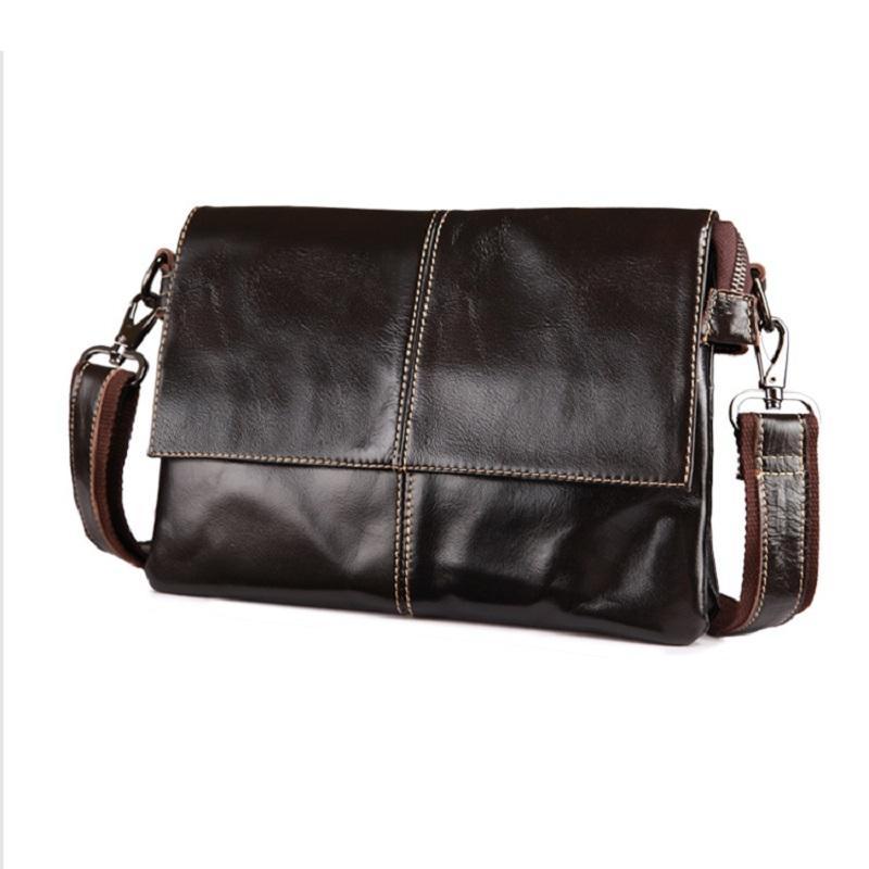 Мужские ландшафтный стиль Messenger сумки первый слой натуральной кожи коровьей сумки бизнес случайные креста тела сумка бесплатная доставка