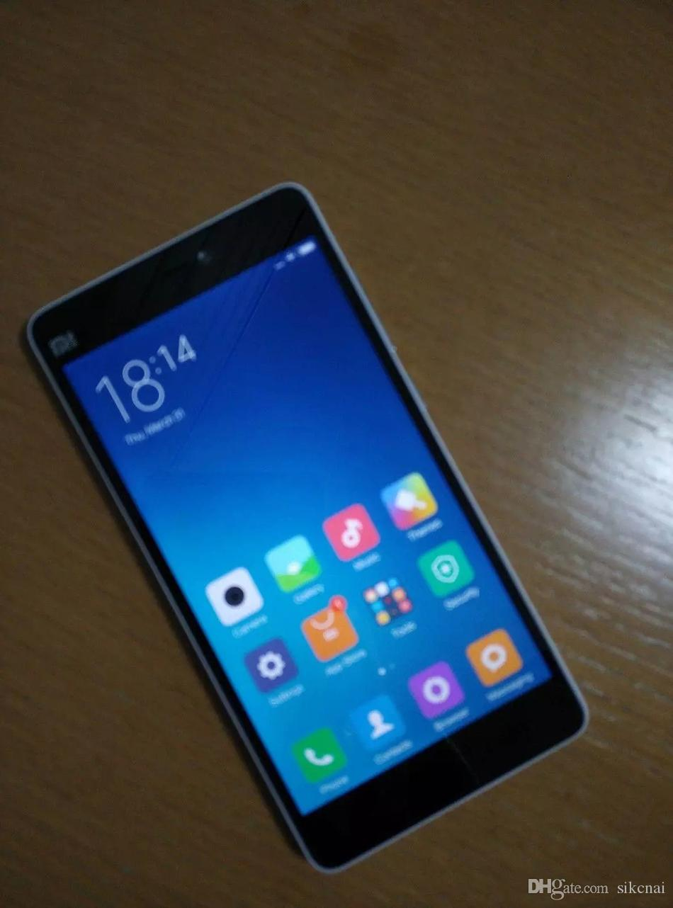 Xiaomi Mi4C 4G LTE 3GB 32GB 64-Bit Qualcomm Snapdragon 808 Hexa Core 1.8GHz Android 5.1 Lollipop MIUI 7 GPS 13.0MP