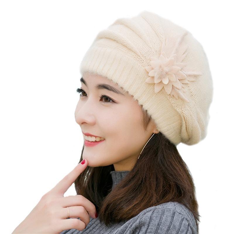 Brand-IDUOLELELE Good Quality Winter Hats for Women Beanie Winter ... c3ed0b0fc147