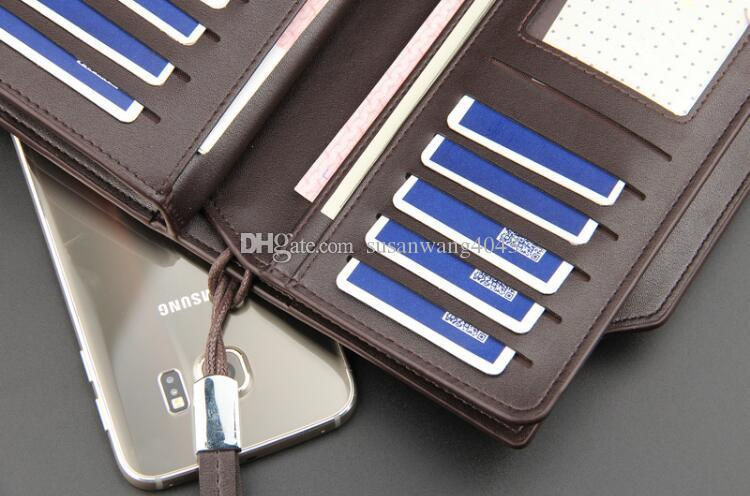 Luxury Man Wallet Phone Bag PU Leather Case For iPhone 7 6 6s Plus 5s 5 Galaxy S7 Edge S6 Xiaomi Mi5 Redmi 3S Note3 4 DHL free GSZ371