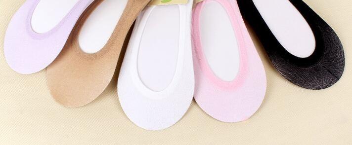 Wholesale Womans Fashion Cotton Unsichtbare kurze Socken / Sock Slippers 6 Farbe SM-15F