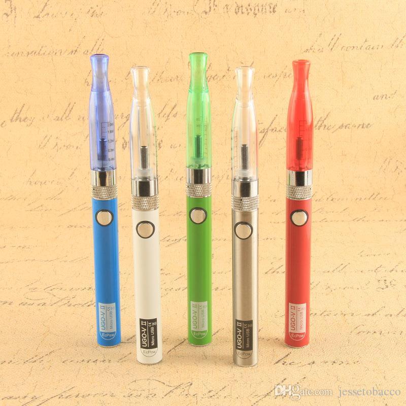 Hot vaporizers dab vaporizer e cigarette ugo-V II eGo H2 Starter Kit atomizer Vaporizer Pen Vape
