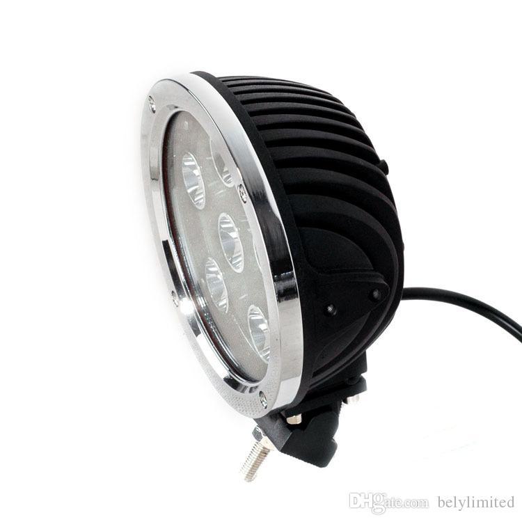 7 inç 60w led çalışma ışığı, araba için led spot, 12v traktör UTV için araba spotlight