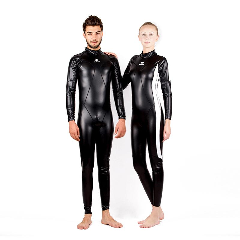 763d5f1e1d 2019 HXBY Full Body Swimsuit Waterproof PU Men One Piece Suits Swimwear  Women Swimming Suit Swimsuits Warm Swim Suit Bodysuit Badpak Black Arena  From ...