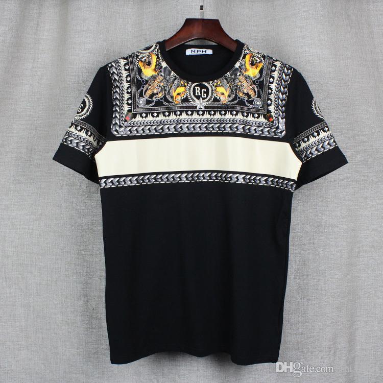 2017 Fashion Brand Mens T Shirts Men Short Sleeve Shirt Casual ...