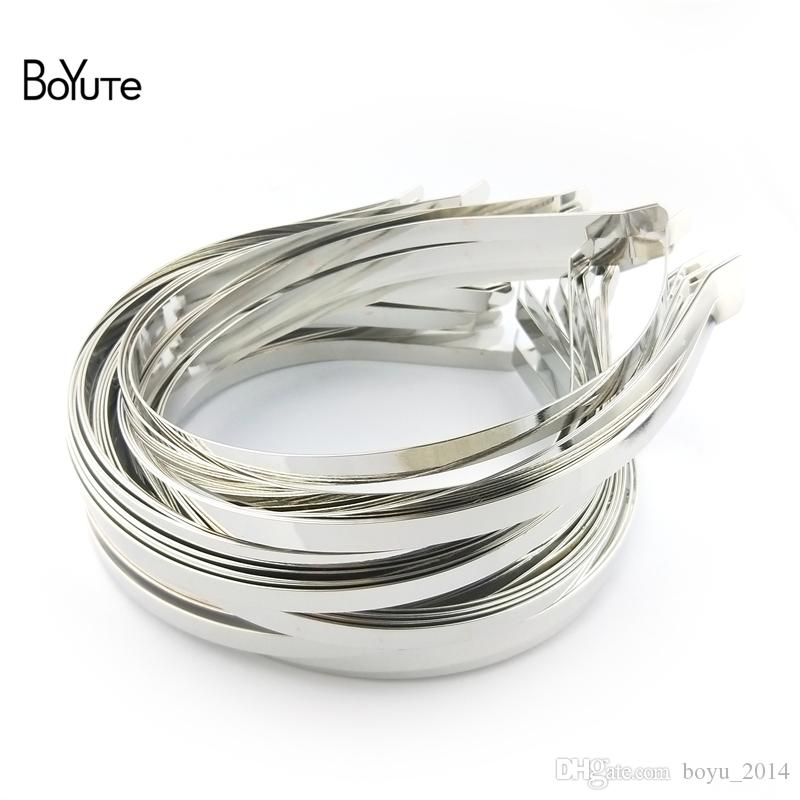 New Womens 4mm Eight Piece Gold And Silver Metallic Effect Hairband