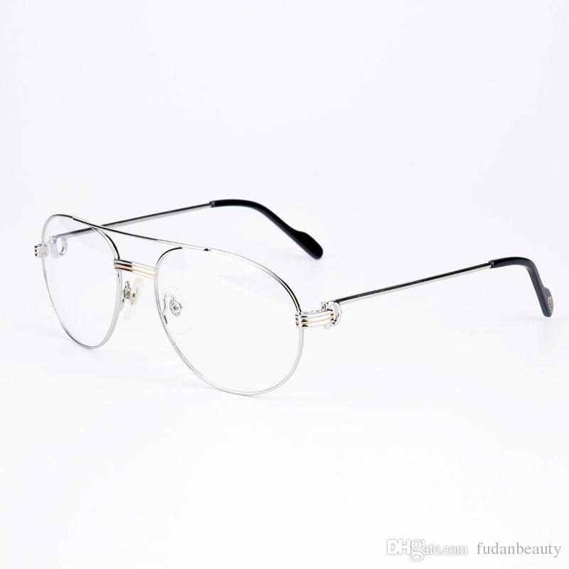 Classic Metal Eyeglasses Frames Prescription Glasses Reading Glasses ...