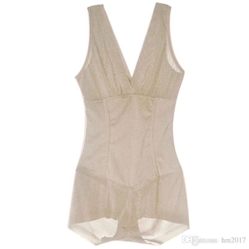 New Hot Seamless Ganzkörper Shaperwear Damen Nylon Body Shaper Abnehmen Form Unterwäsche