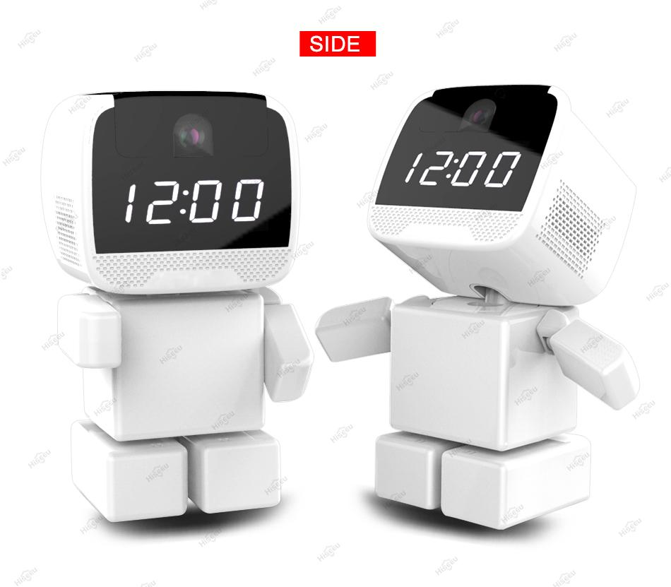 Cámara robot WIFI HD 720P mini cámara IP Pan / Tilt Audio bidireccional visión nocturna inalámbrica Vigilancia Seguridad para el hogar Cámara niñera monitor de bebé