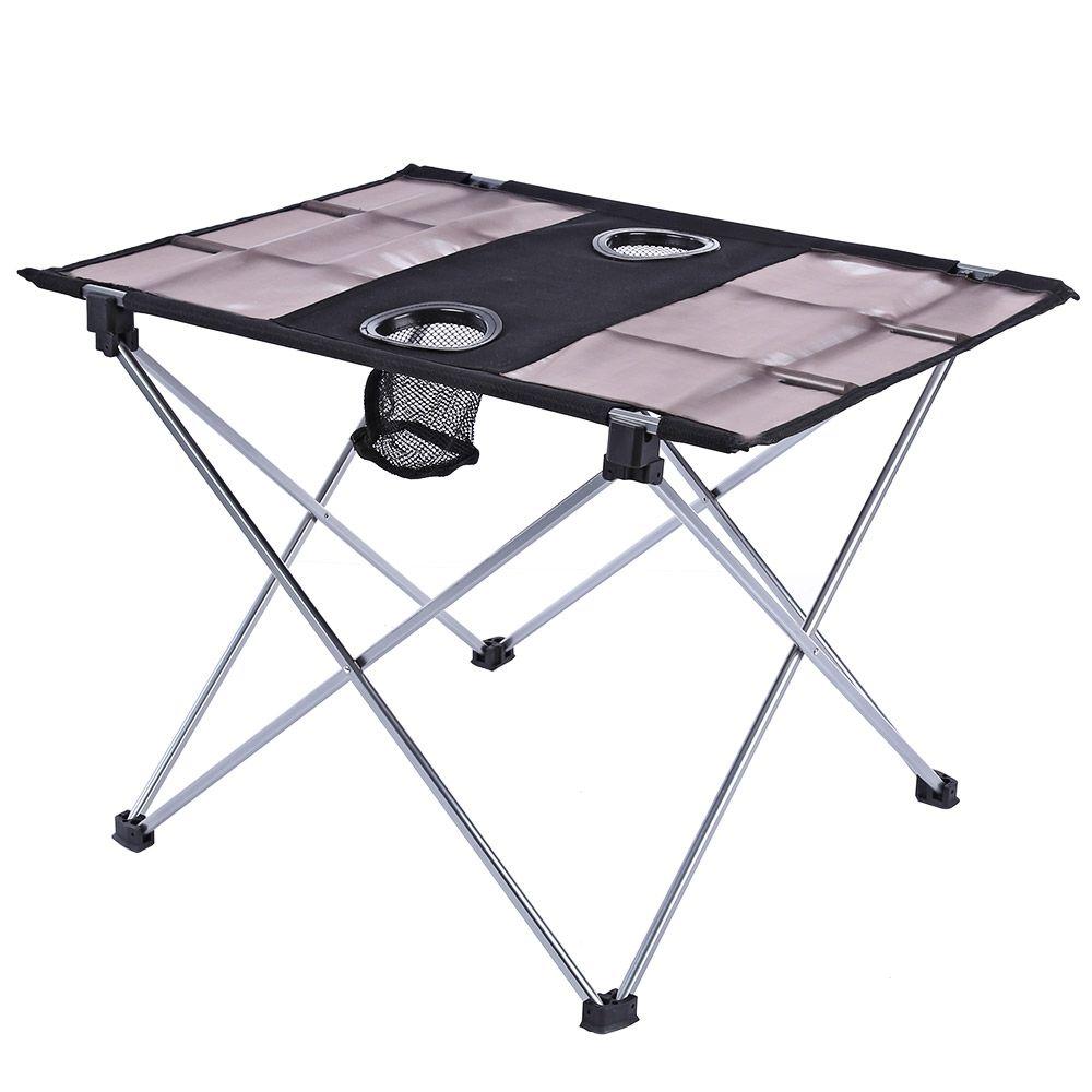 Portable Outdoor Ultralight Folding Table Aluminium Alloy Oxford - Picnic table fabric