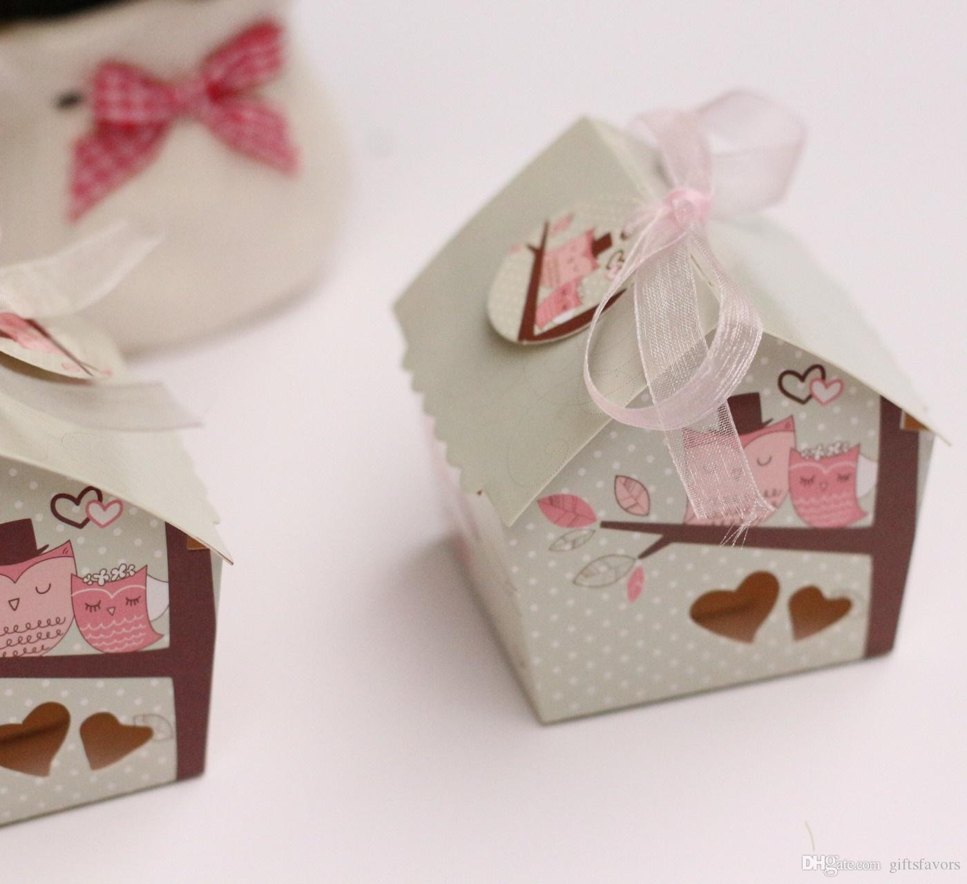 Love Birds House Candies Boxes Wedding Bridal Shower Chocolate ...
