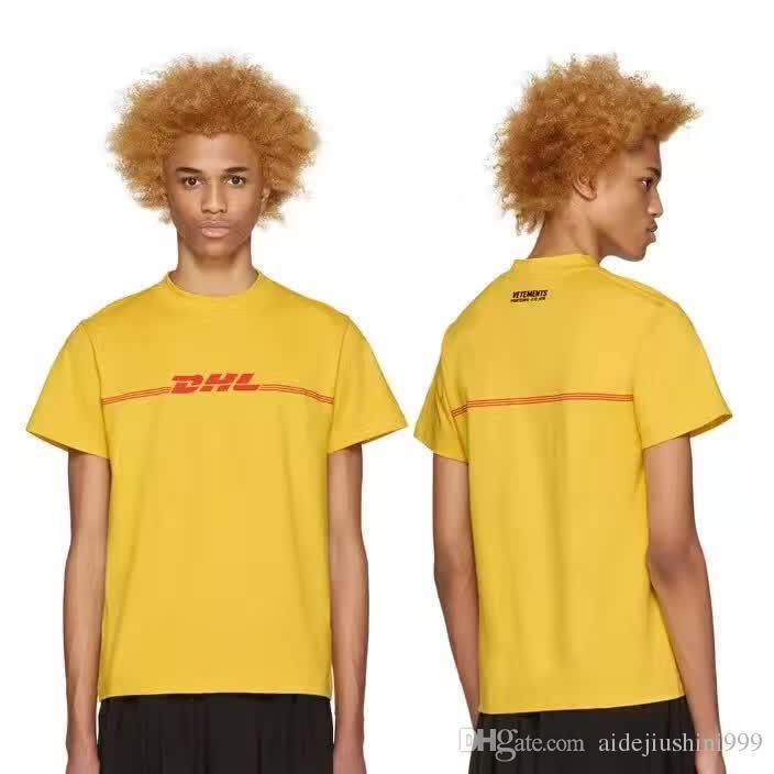 vetements dhl t shirt