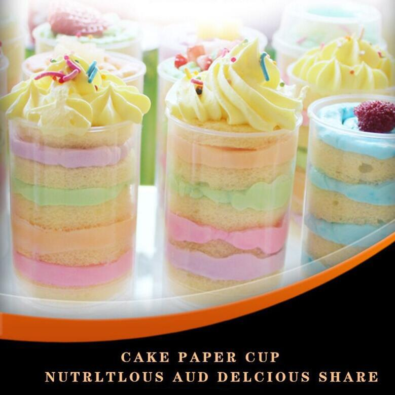 Hot Sale Plastic Food Grade Push Up Pop Containers Push Cake Pop Cake Container For Party Decorations Round Shape Tool