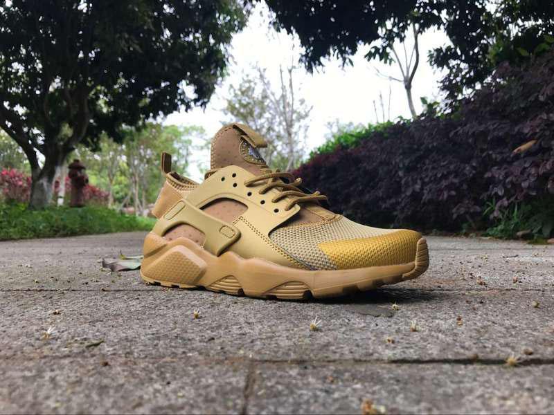 Yeni Tasarım altın renk Hava Koşu Ayakkabıları Huarache 4 Erkekler Kadınlar Için En Sneakers Atletik Spor Açık Ayakkabı Huaraches Boyutu: 36-46