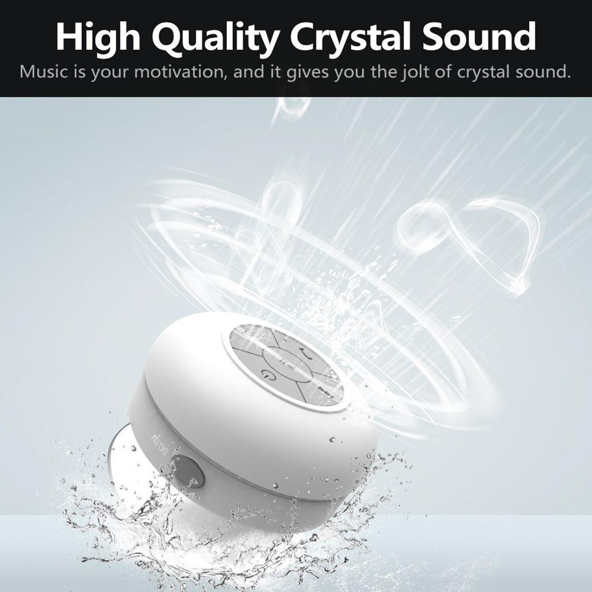 2016 High Quality Waterproof Bluetooth Speaker Sucker,Car Wireless Speakers,Handsfree  Speaker Box ,Bathroom Speaker Shower Mp3 Player Touch Mp3 Player From ...