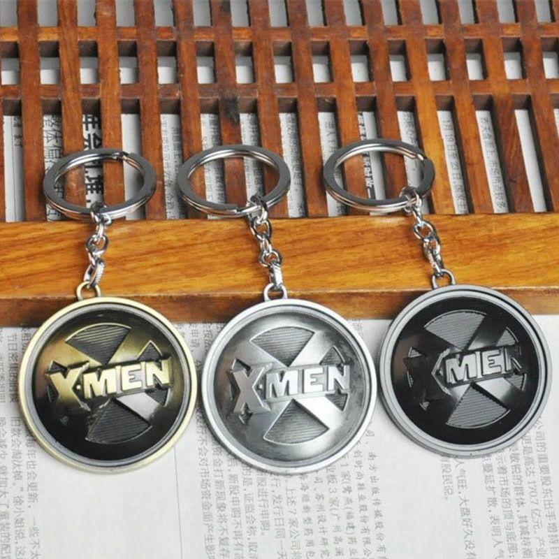Marca Nuevo X-Men Llavero Para Hombres Baratija Llavero Porte Clef Anime Llavero Anillo Llavero Coche Llavero Masculino Joyería Regalo Recuerdos