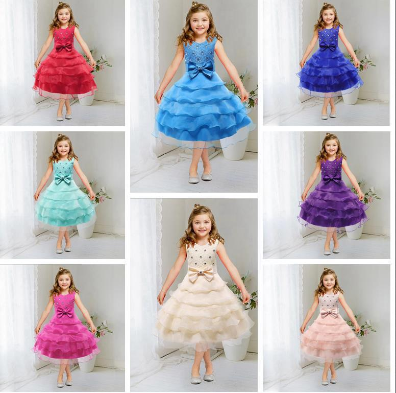 Formal Girls Dress For Girls 2017 Princess Wedding Party Pageant ...