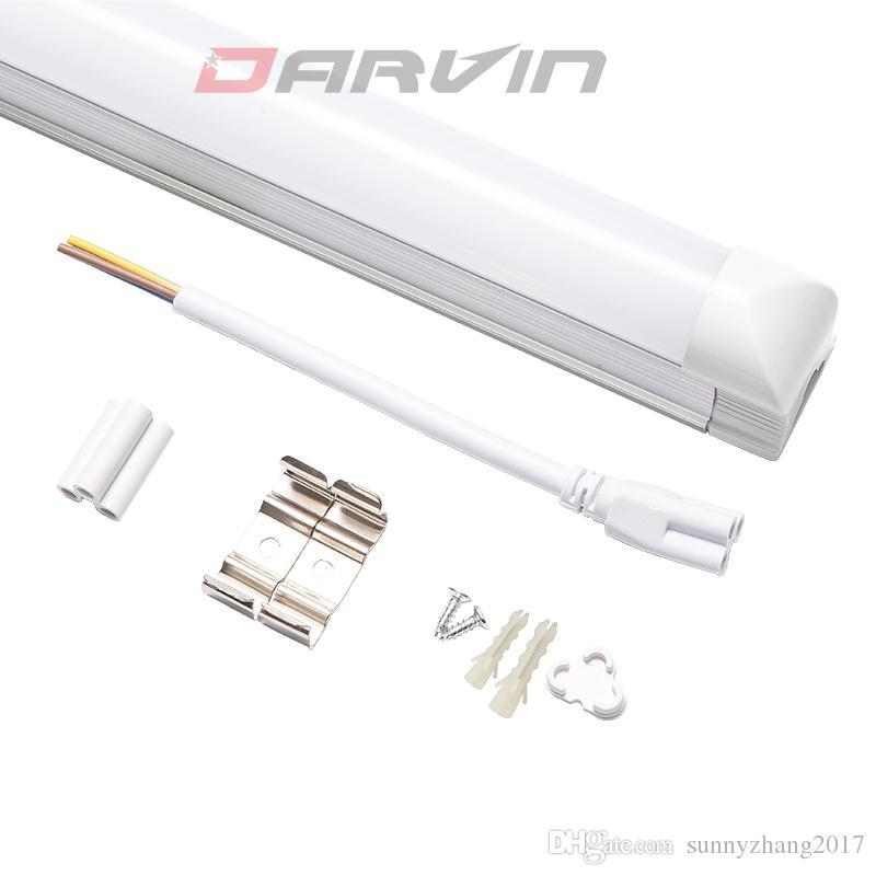 T8 통합 LED 튜브 라이트 4FT 18W 120cm 1200mm 멋진 화이트 6500K 화이트 4500K 자연 화이트 3500K
