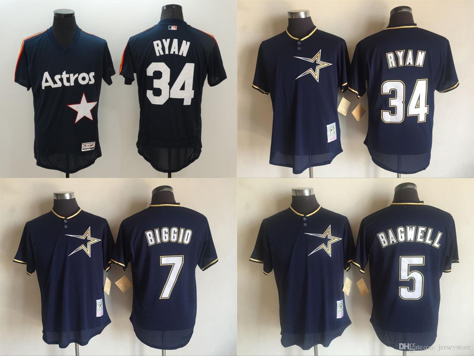 69daa500c ... buy stitched houston astros jersey men 5 jeff bagwell sweden 2017  houston astros 34 nolan ryan