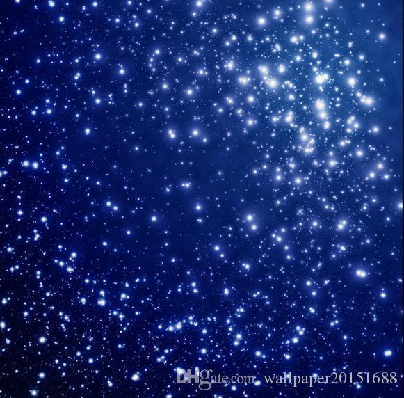 Beau univers fantastique ciel zénith plafond plafond décoration peintures murales 3d peintures murales plafond papier peint