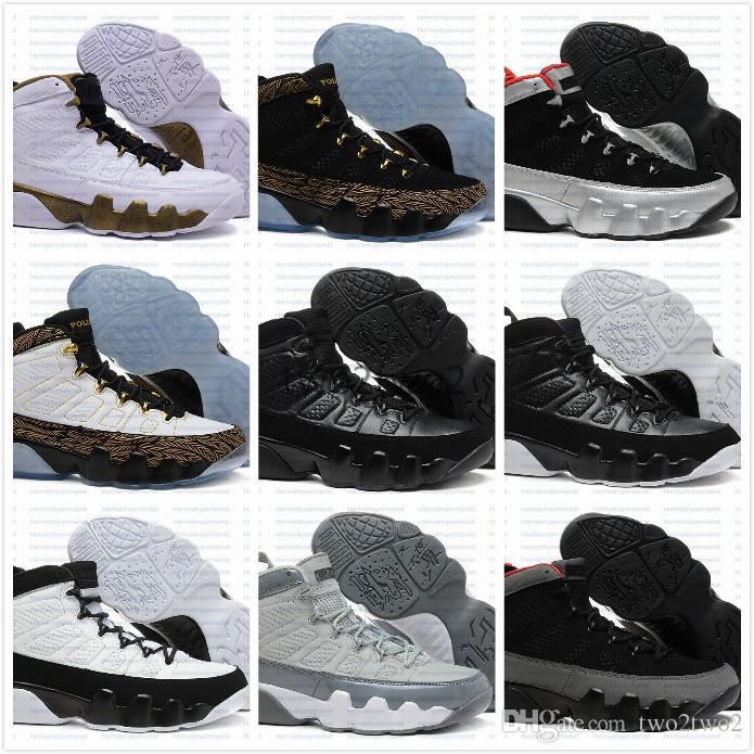 d49a2a09d1 Acheter 2017 New Air 9 Space Jam Hommes Chaussures De Basket Ball Noir  Rouge Bleu 2017 Sneakers Athlétique Trainers 9 S Chaussures De Sport US 8  13 De ...