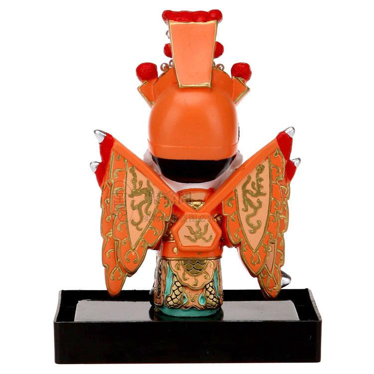 Vertical cartoon clay figurine Huang Zhong Oriental clay sculptures of the five craft creative Home Furnishing ornaments to send foreigners