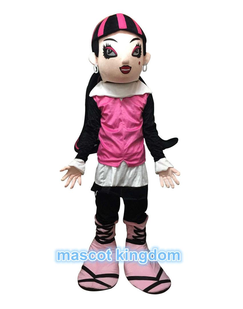 New Monster High Draculaura Mascot Costume Outfit Adult Witch Halloween Costumes Duck Costumes From Mascotkingdom $279.79| Dhgate.Com  sc 1 st  DHgate.com & New Monster High Draculaura Mascot Costume Outfit Adult Witch ...