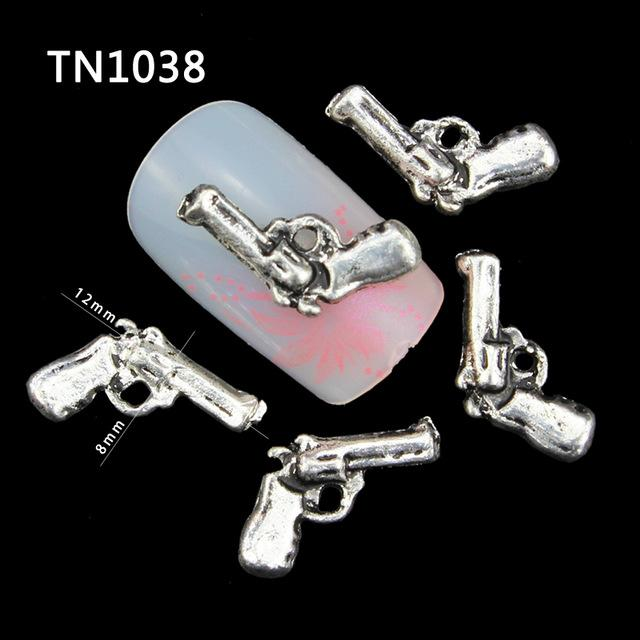 Wholesale Pack Gray Gun Diy 3d Nail Art Decorations For 2515 New