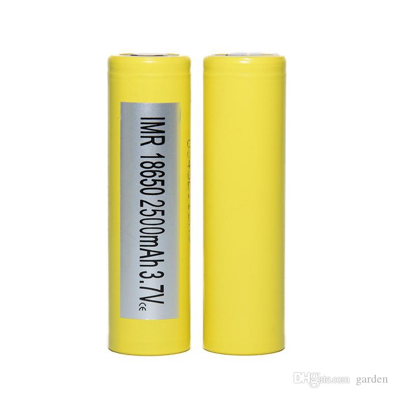 Original 18650 Battery LG HG2 Samsung INR18650 30Q 3000MAH HE2 HE4 INR 25R 2500mah Rechargeable Batteries Using Cell 100% Authentic In Stoc