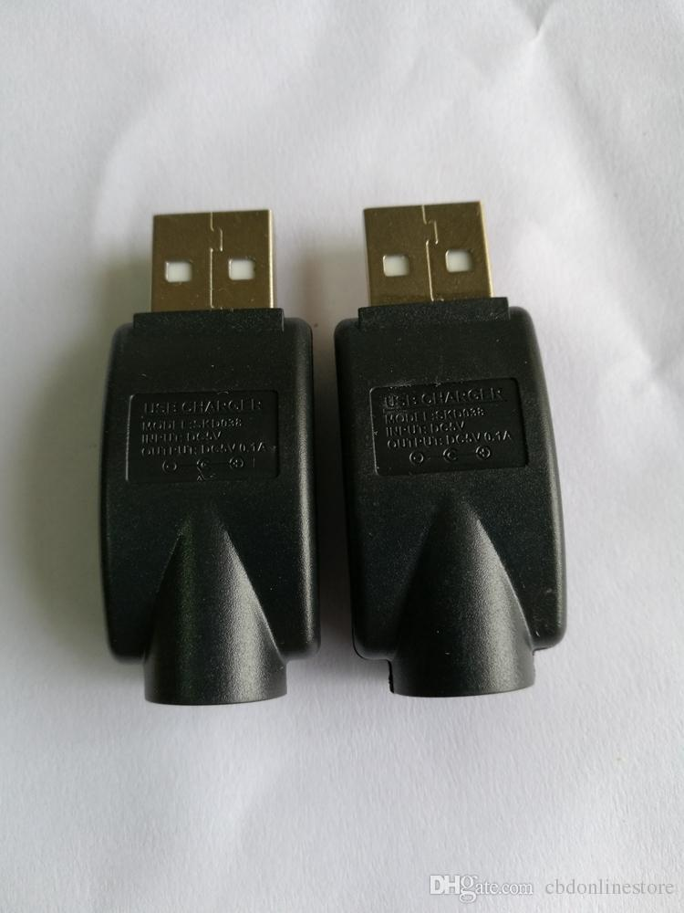 Kabelloses USB-Kabel-Ladegerät mit 510 Fäden für ecig Batterieknopf Touch vape Stiftakku o Stift CE3