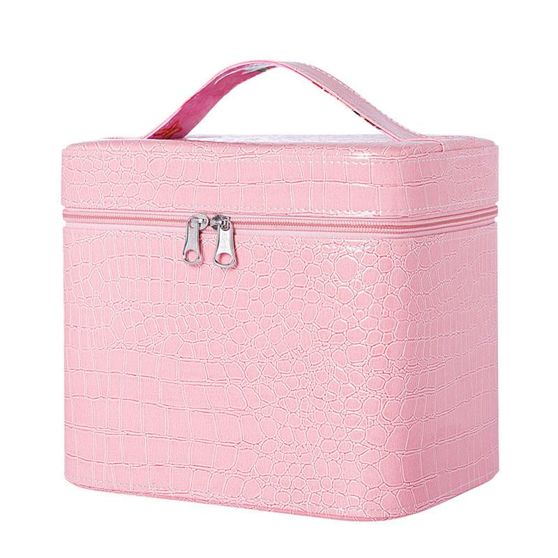 PU Leather Cosmetic Makeup Bags Cases Boxes Womens Makeup bags Large Capacity Portable Storage Travel Bags 2804004