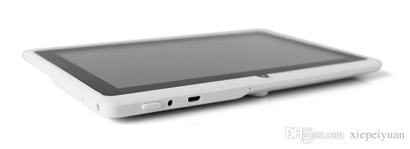 2021 7 인치 정전 용량 Allwinner A33 쿼드 코어 안드로이드 4.4 듀얼 카메라 태블릿 PC 8기가바이트 RAM 512메가바이트 ROM 와이파이 EPAD 유튜브 페이스 북 구글 A-7PB