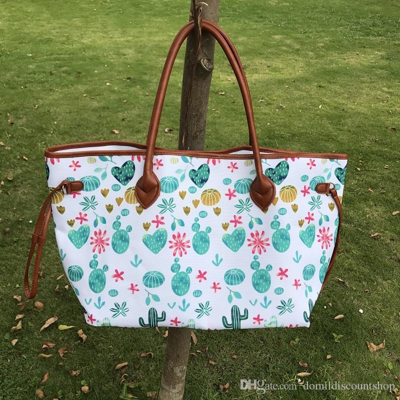 2019 brand fashion luxury designer tote bag Wholesale Blanks DOMIL Bullskull Women Tote Bag Arrows Cactus Large Purse Handbag DOM103658