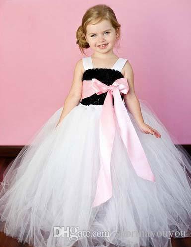 ручной работы платье 2018 девушка платье новая бесплатная доставка для 2-11 возраст лук цветочные девушки Принцесса свадьба лук дети вечернее платье
