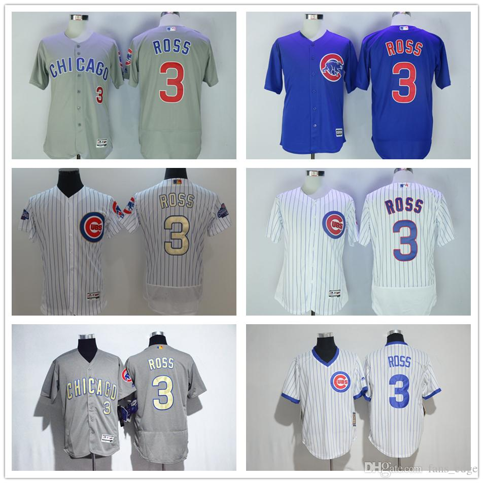 1fbcfce9314 mens chicago cubs 3 david ross white stitched cool base baseball jersey