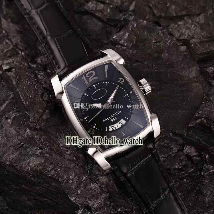Para De Deportivos 01 Cuero Calidad Reloj Automático Luxry Relojes Esfera Pf011128 Palladium Marca Alta Nuevos Grande Negra Kalpa Hombre Correa USpqzMV