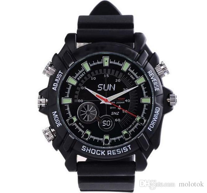 The latest 1080p Full HD night vision observation, sharpening 8GB W1000 Mini Watch.