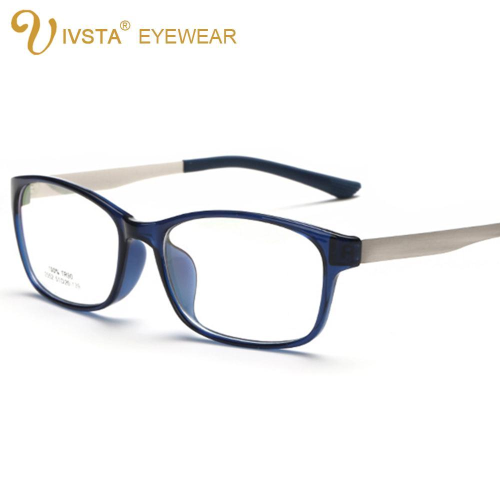 f7acbbc45a0 Wholesale- IVSTA 100% Flexible TR90 Frames Glasses for Women Men ...