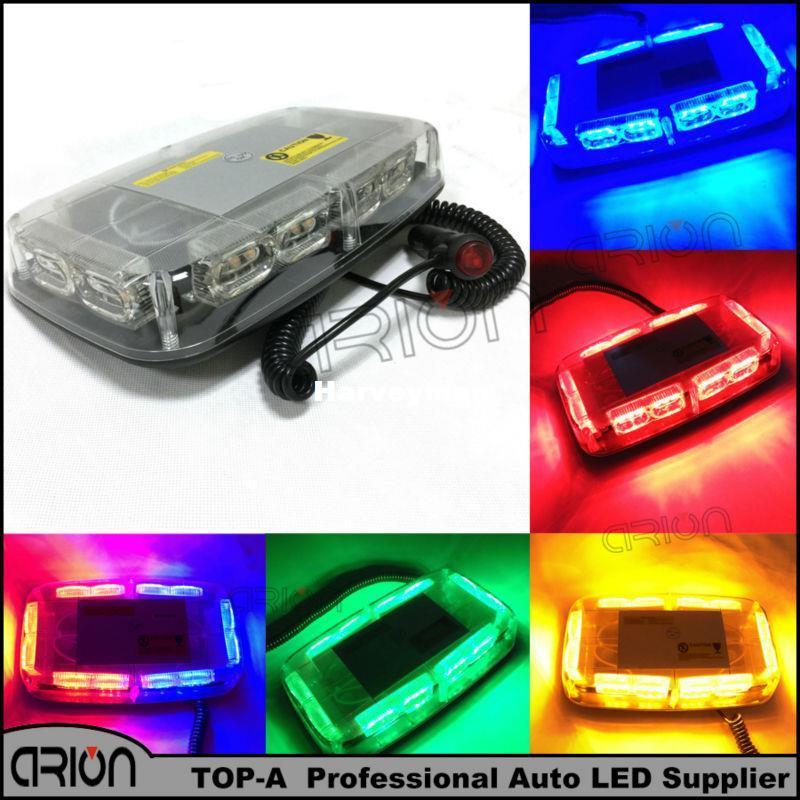 36 Led Car Roof Flashing Strobe Emergency Light Bar Dc 12v