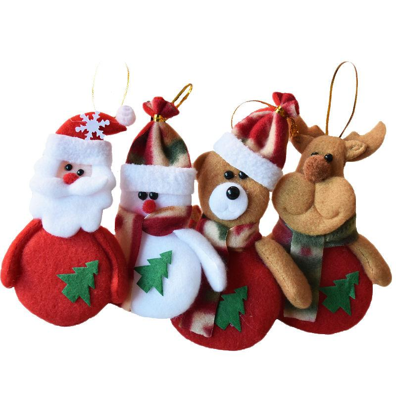 Christmas Tree Decorations For Home Santa Claus Snowman Christmas