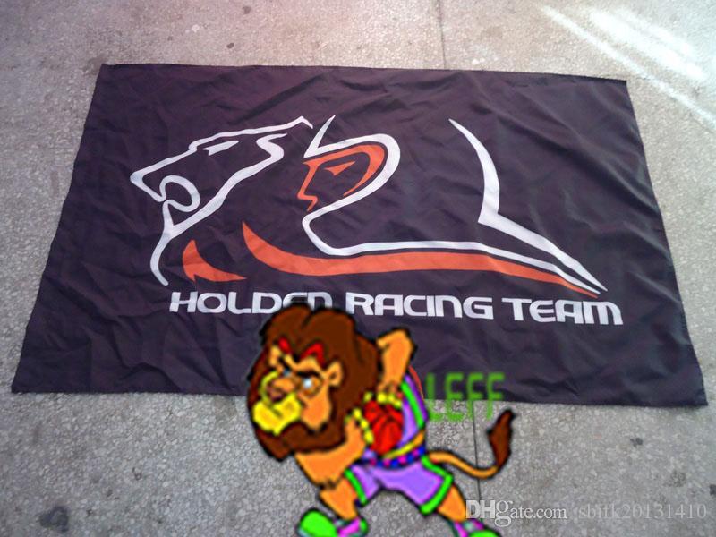 bandiera della squadra da corsa hold-en, caterpillar Automobile Exhibition banner, 100% polyster 90 * 150 CM bandiera, bandiera king100% poliestere 90 * 150cm, Digital Pri