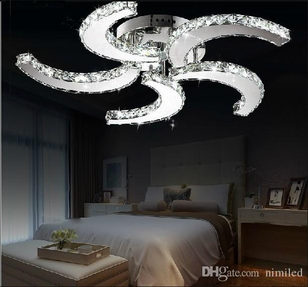 New Modern Lustre Led Crystal Ceiling Fan Part 97