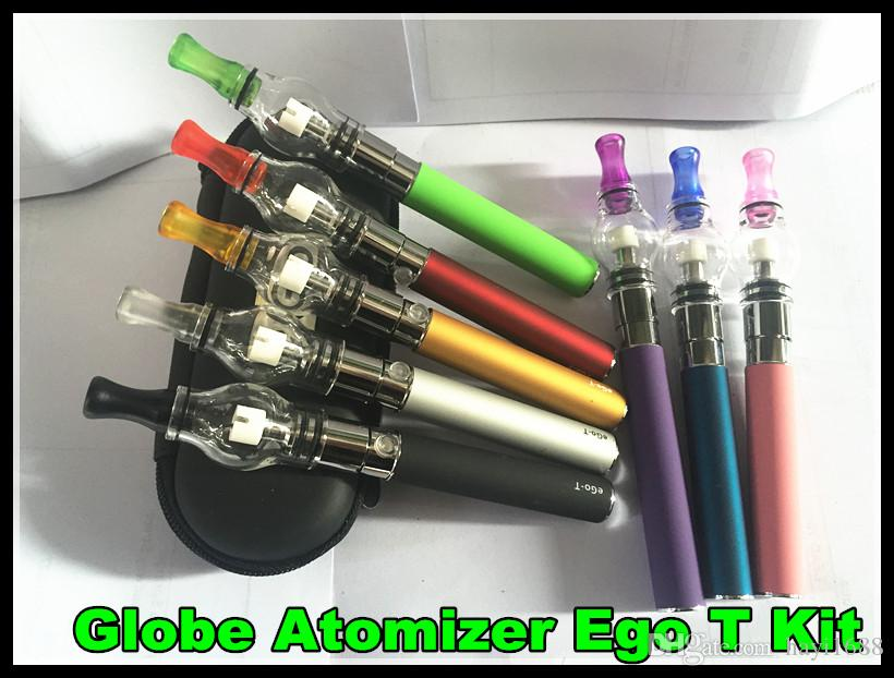 COLORS Dome Portable Vaporizer Portable Wax Vape Pen Discreet glass globe Waxy Oils Compact ego t Battery electronic cigarette vs ego ce4